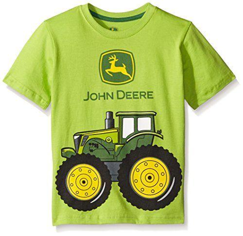 John Deere Boys' Big Tractor Tee T-Shirt Top. www.YankeeToyBox.com # ...