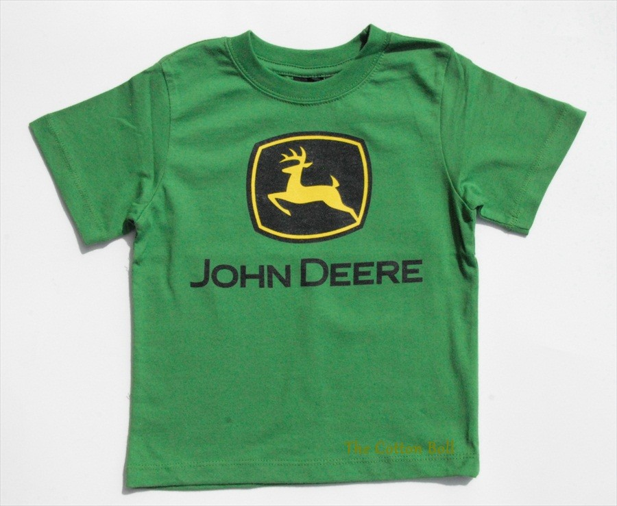 Details about New JOHN DEERE Boys Green Classic Shirt 2T 3T 4T