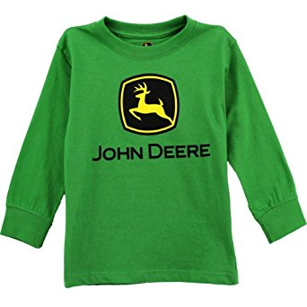 Amazon.com: John Deere Boys Green T-Shirt (L (14)): Clothing