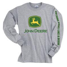 John Deere Clothes on Pinterest | Shirts, Camo and Women's T Shirts