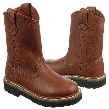 john deere kids wellington tod pre boots brown walnut wellington boots ...