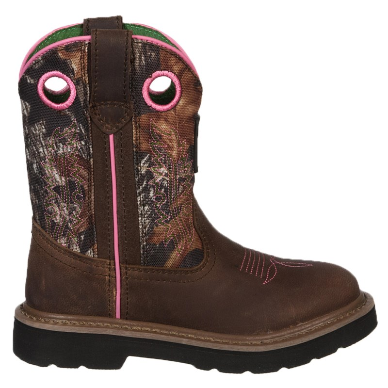 John Deere Kids' Classic Pull On Cowboy Boot Toddler/Preschool Shoes ...