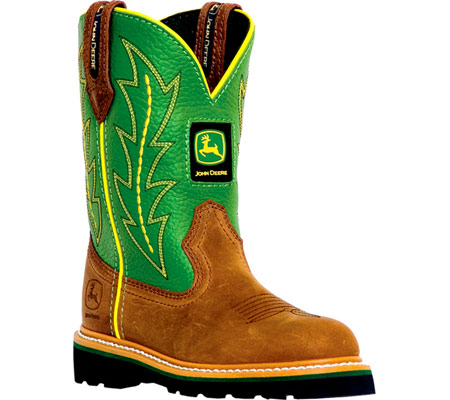 Infants/Toddlers John Deere Boots Leather Wellington 1186 - FREE ...