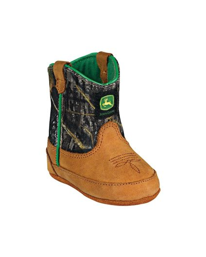 John Deere | Crib Classic Pull-On Boot - Mossy Oak | Country Outfitter