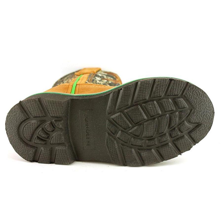 John Deere John Deere Pull On Toddler Leather Tan Hunting Boot Baby ...