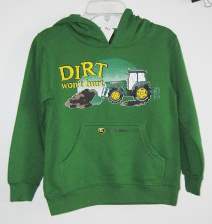Details about John Deere Boy Hoodie Sweatshirt UPick Size & Style NWT