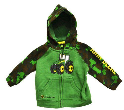 ... green baby things john deer hooded sweatshirts hoods sweatshirts boys