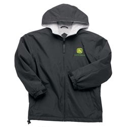 Youth Black Nylon Jacket | John Deere Gifts | Pinterest