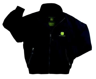John Deere Black Traveler's Jacket -FREE SHIPPING