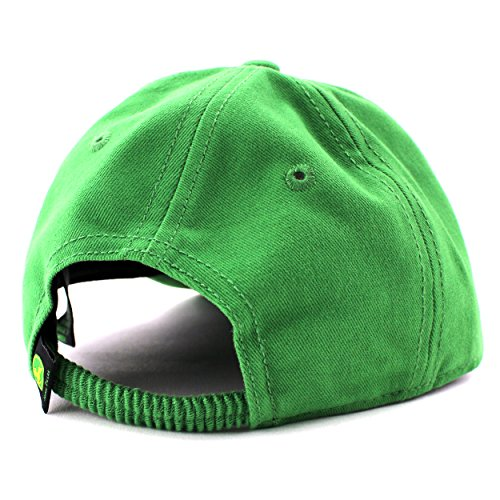 John Deere Toddler Youth Baseball Cap Hat (Toddler 2T-4T, Green JD ...