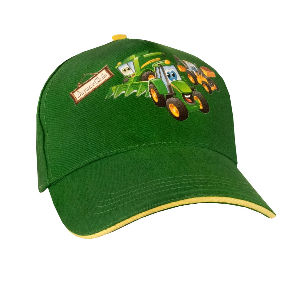 JOHN DEERE KIDS JUNIOR CLUB CAP GRN | Mascor Online Clothing, Toys and ...