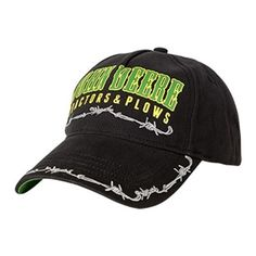 John Deere Youth Boy's Black Tractors & Plows Cap | WeGotGreen.com