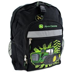John Deere Little Boys Tractor Burst Backpack, Black, Chi... https ...