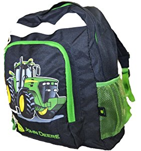 Amazon.com: John Deere Tractor Backpack Black: Toys & Games