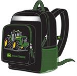 John Deere Black Tractor Backpack | John Deere | Pinterest