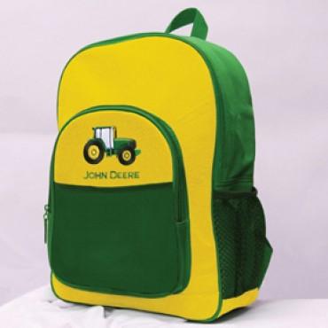 John Deere Tractor Backpack Green/Yellow