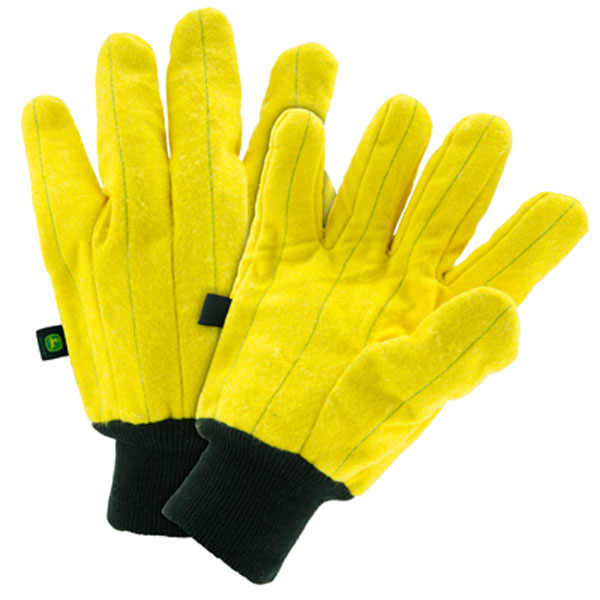 John Deere Men's Yellow Heavy Duty Chore Glove - LP47684