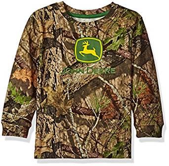 Amazon.com: John Deere Toddler Boys' Mossy Oak Print Logo ...