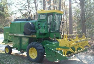 1978 John Deere 3300 Diesel Combine - TractorShed.com