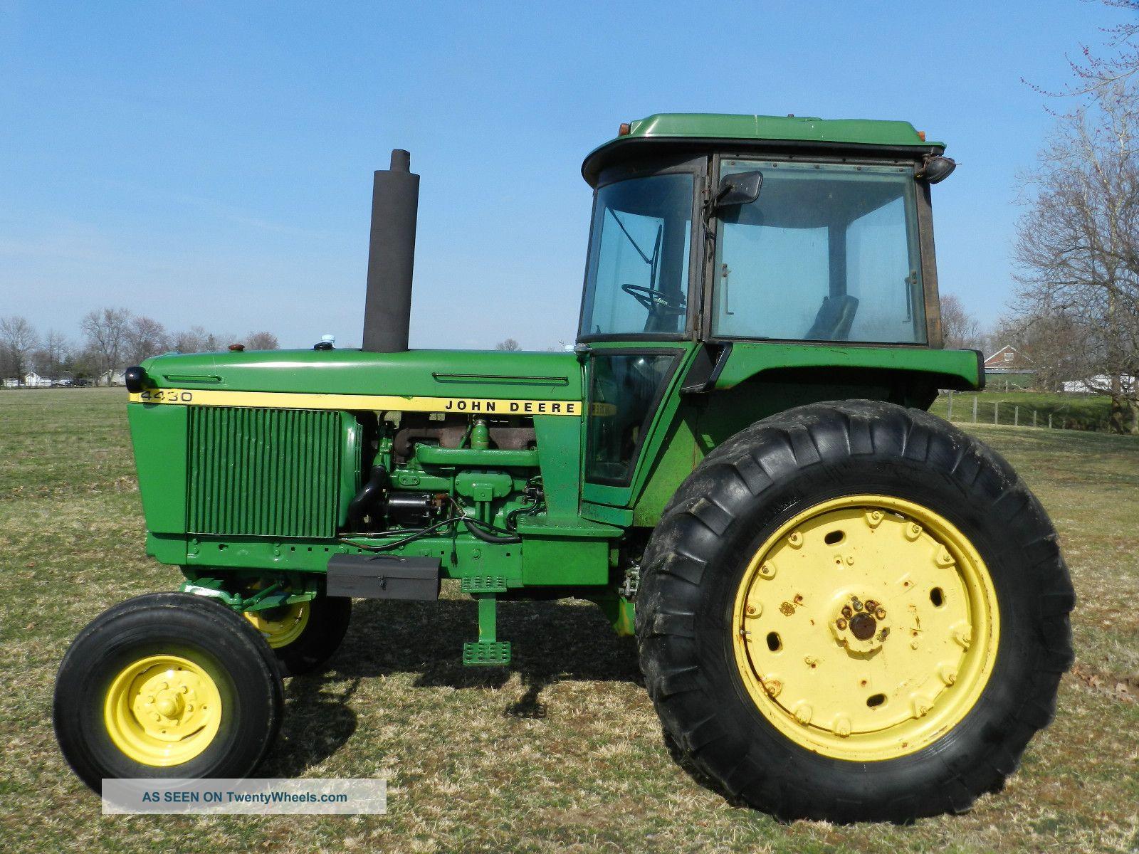 John Deere 4430 Tractor & Cab - Diesel