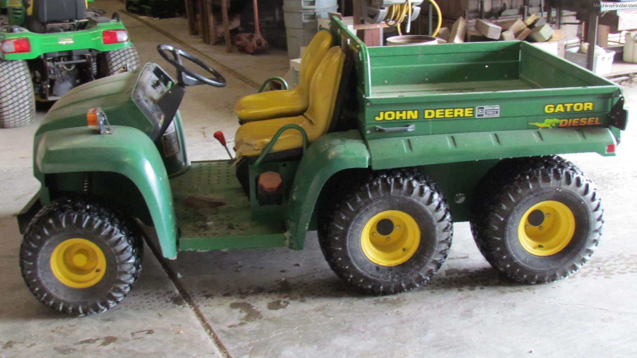 Gallery For > John Deere Gator 6x4 Diesel