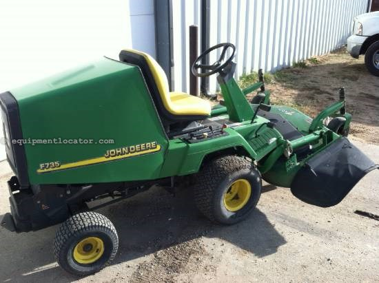 2002 John Deere F735 Riding Mower For Sale at EquipmentLocator.com