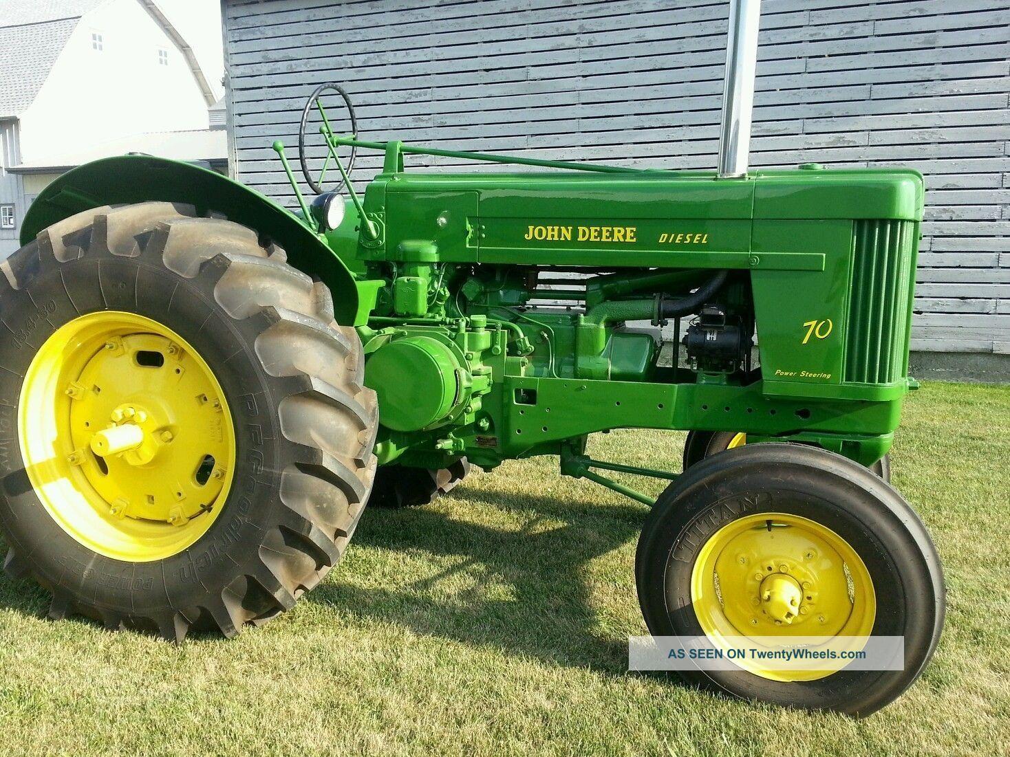 John Deere 70s Tractor Standard Diesel G 720 730 50 60 80