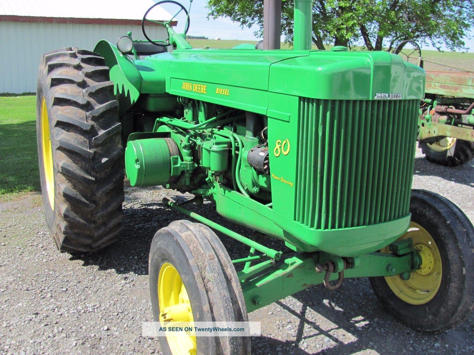 John Deere 80 Diesel Standard Tractor Ie 60 70 620 630 720 730 820 830 G R