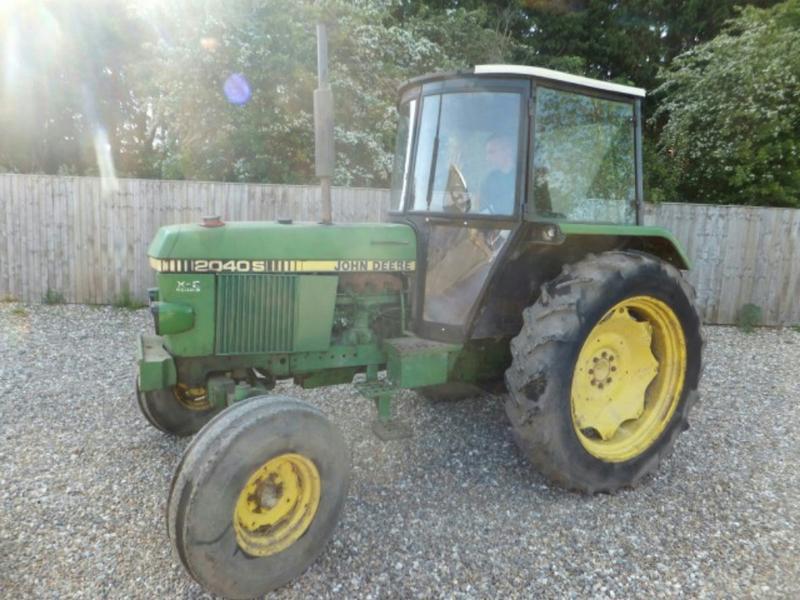 JOHN DEERE 2040 S G 2 CAB Diesel