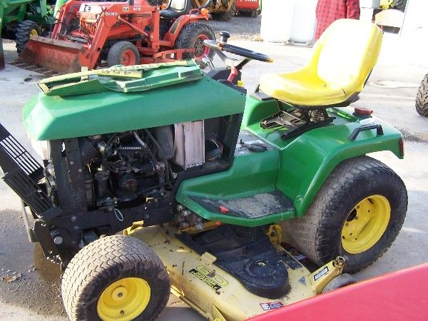 40: JOHN DEERE 455 DIESEL L&G TRACTOR FOR FIX UP : Lot 40
