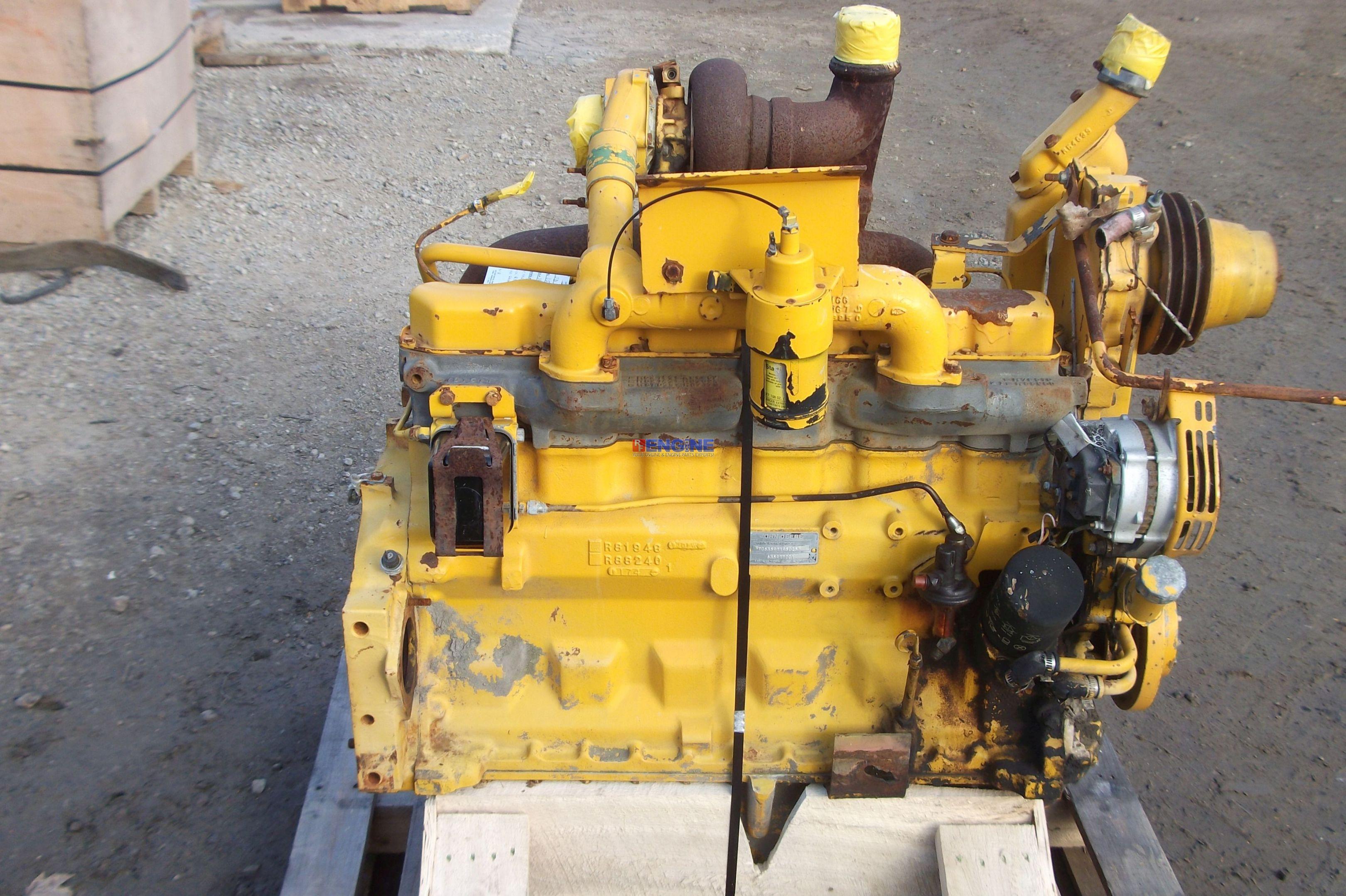 John Deere JD 359T Engine Complete Core ESN TO6359T195025 bcn R81948 HCN R610 | eBay