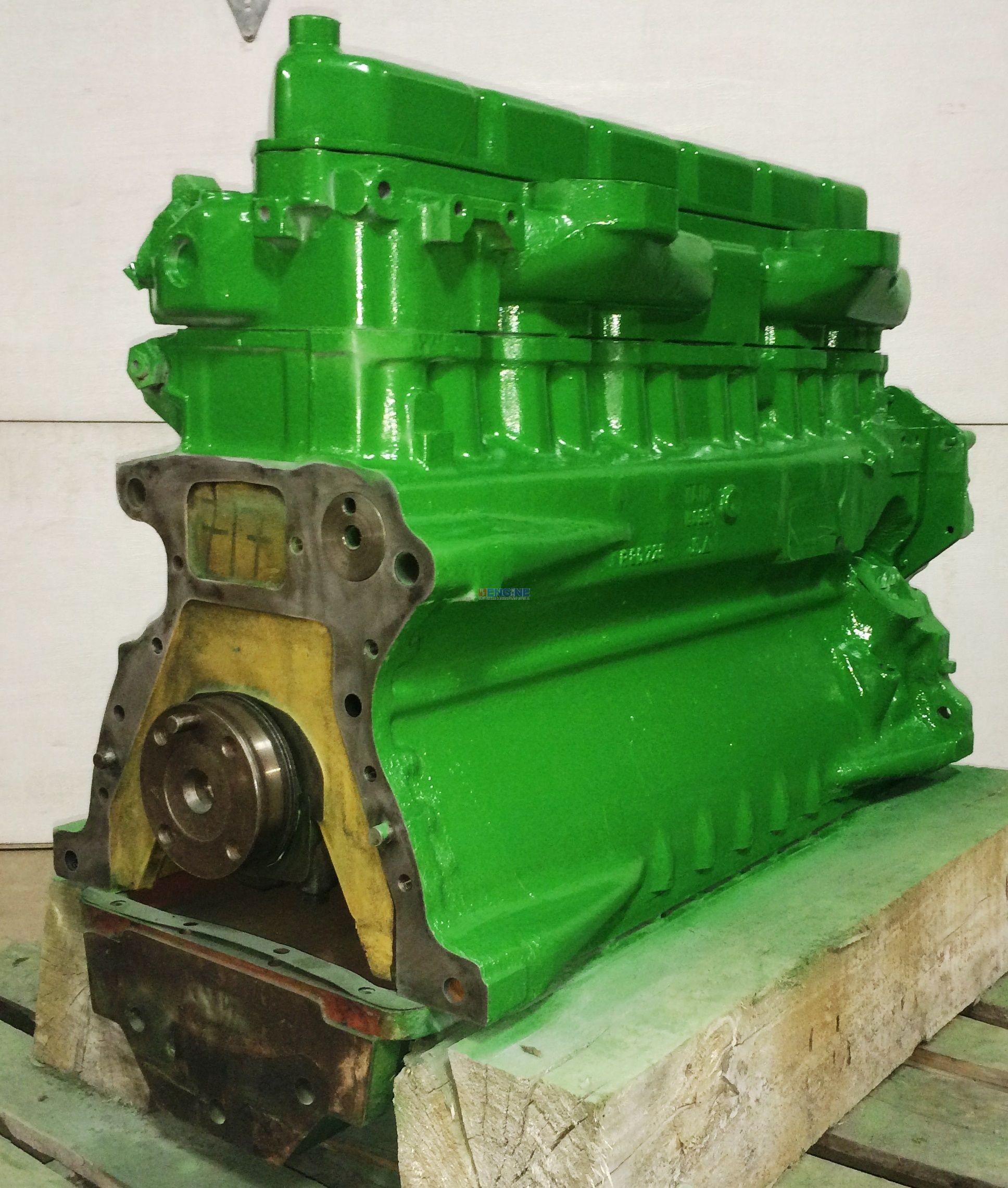 John Deere JD 6.359 Engine Long Block Rebuilt ESN: JD6359D695091, BCN: R80725