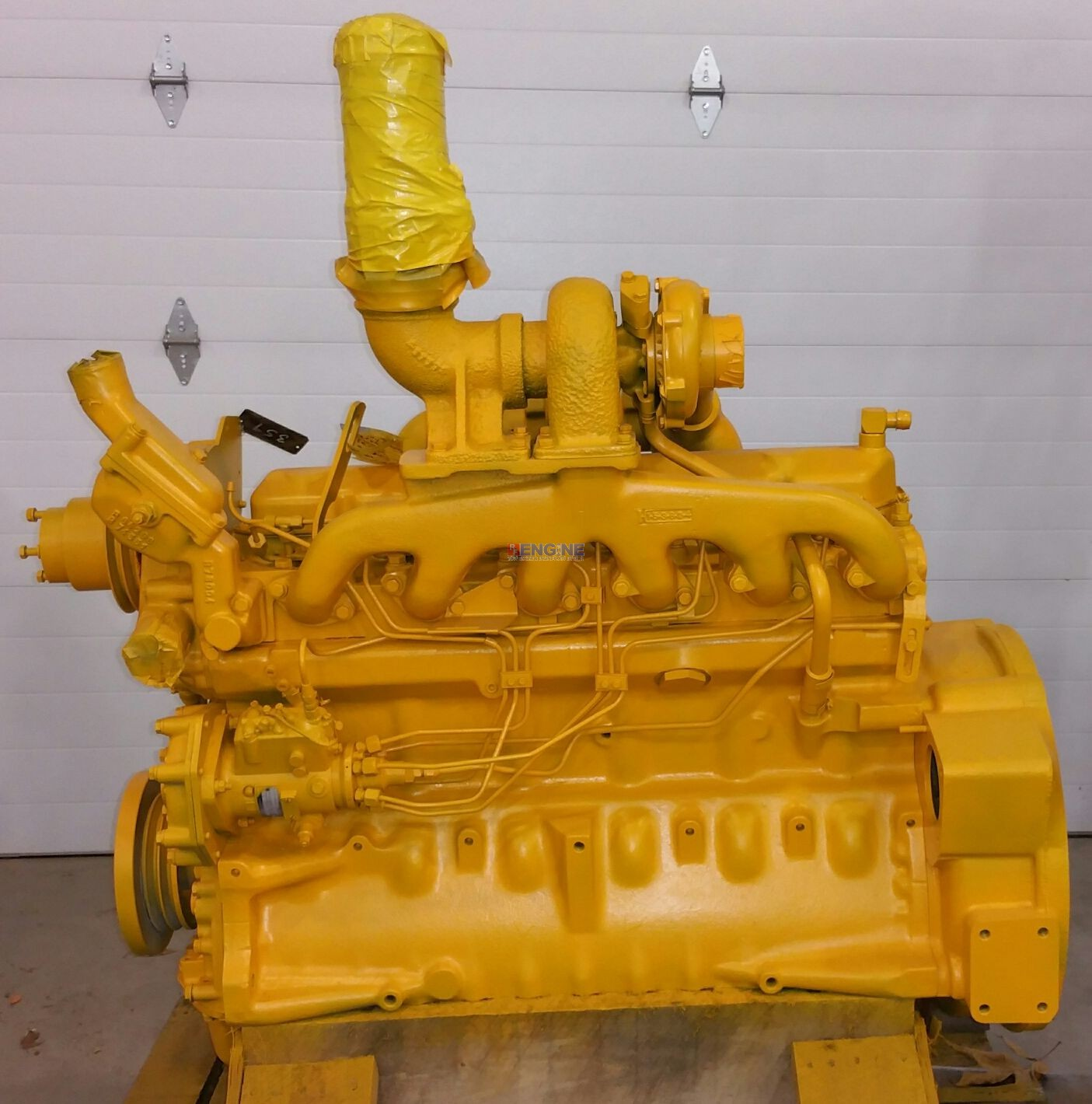 Engine Good Running John Deere 359T S/N: CD6359T709346 BLOCK: R80725