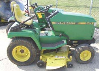 John Deere 240 Repower