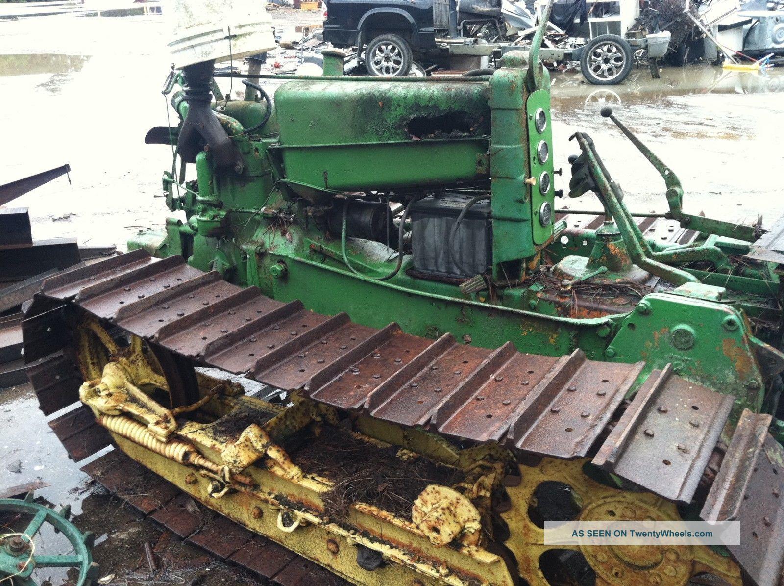 John Deere Track Type Model Mc Crawler / Two Cylinder Gas Engine