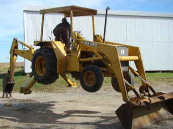 Used Farm Tractors for Sale: John Deere 310A Backhoe (2008-10-19) - TractorShed.com