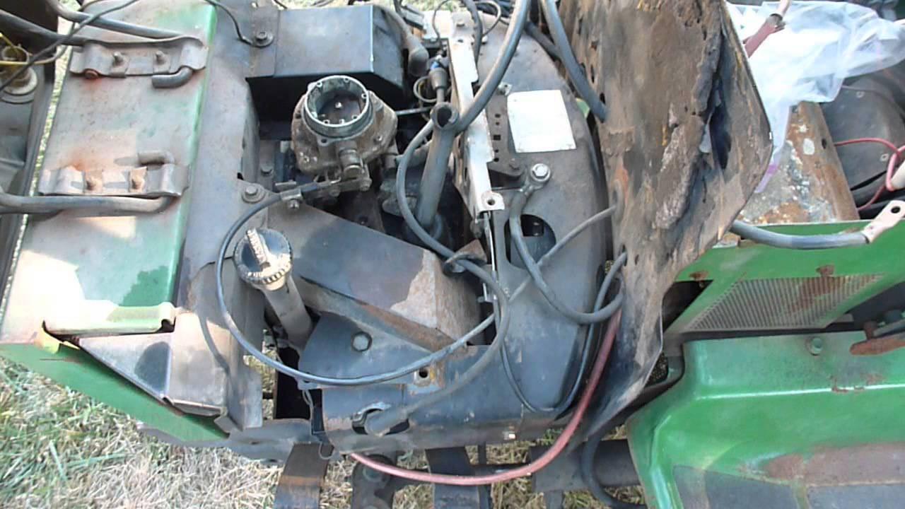 John Deere 318 Onan Engine Differences B43G vs P218G - YouTube