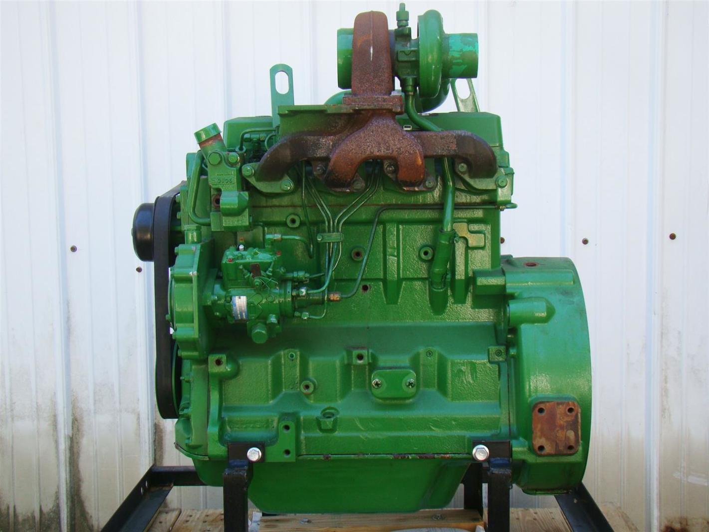 John Deere Diesel Engine 4.5L Turbocharged 4-cylinder 96-23579 4045TF151 | eBay