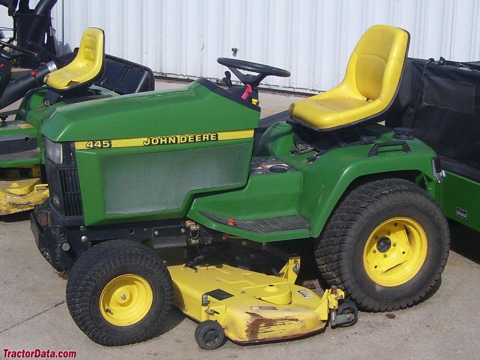 TractorData.com John Deere 445 tractor photos information
