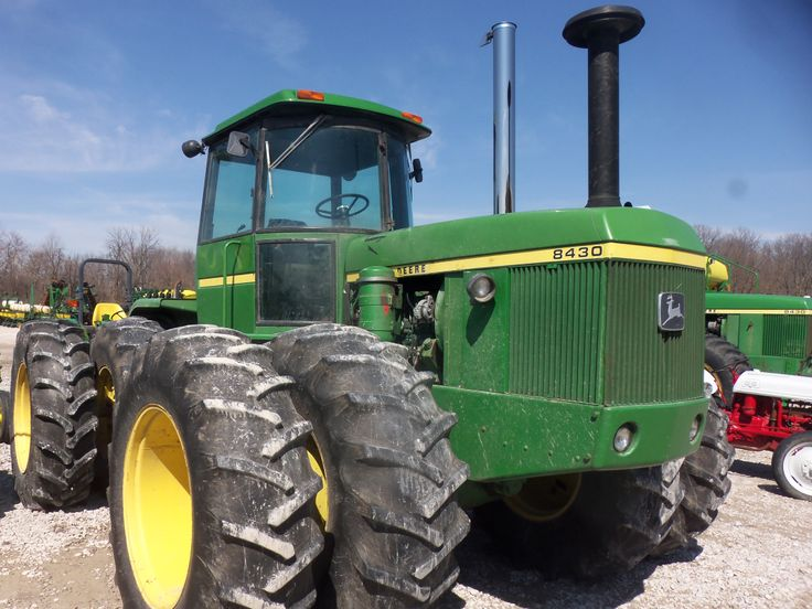 215 engine hp John Deere 8430 | Farming | Pinterest