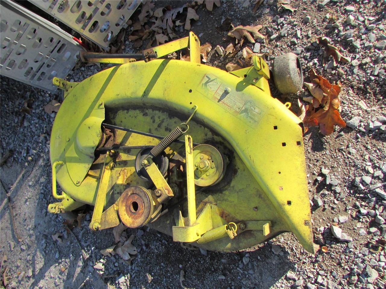JOHN DEERE 38 MOWER DECK 160 165 170 175 180 185   eBay