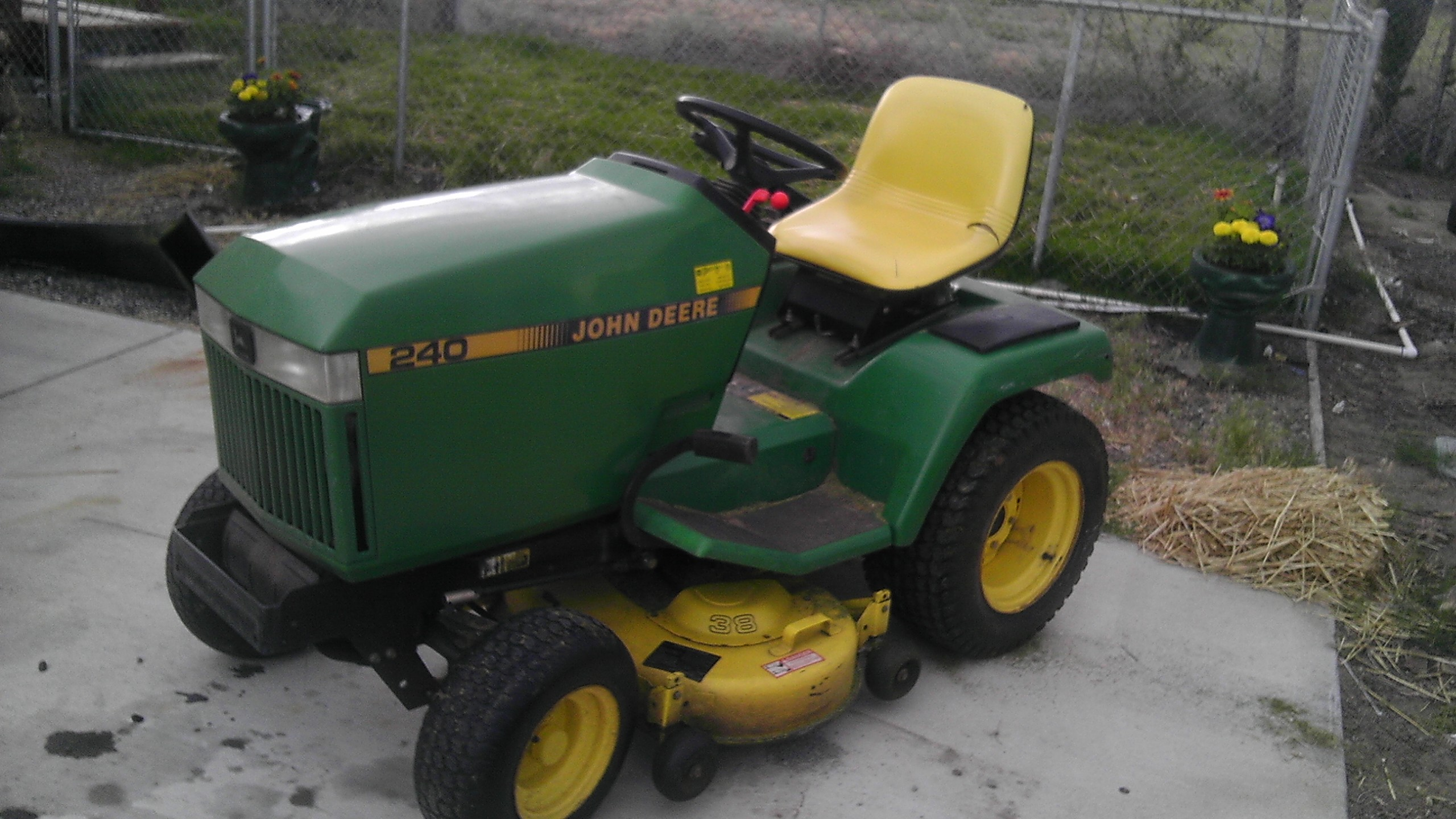 johndeere 240 | Griffination