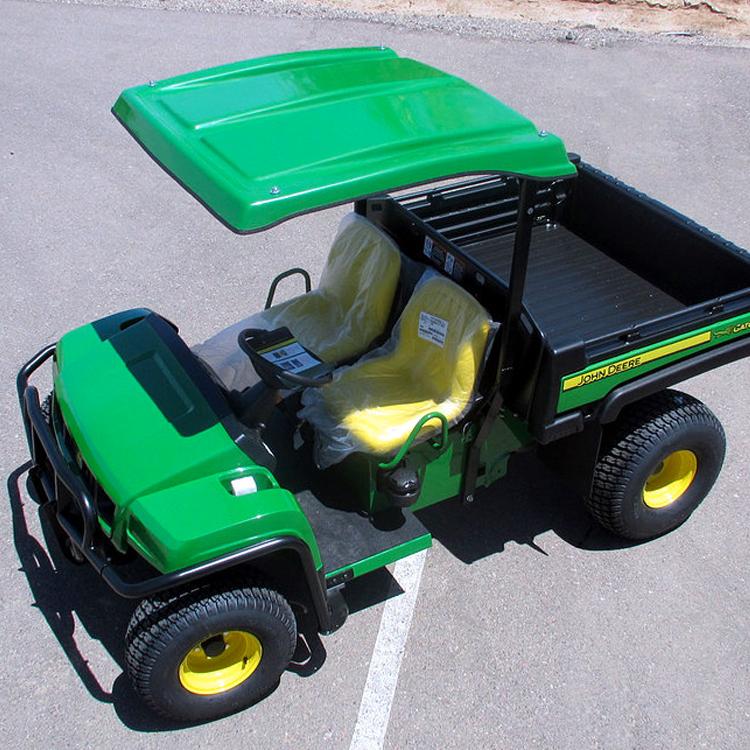 Deluxe Fiberglass Canopy Kit for the John Deere Gator T-Series (TS, TX, TE, TH)