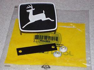John Deere 210 212 214 216 300 314 317 grill emblem NEW M84353 M81685 | eBay
