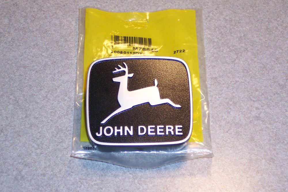 John Deere 316 318 420 grill emblem NEW M76645 | eBay