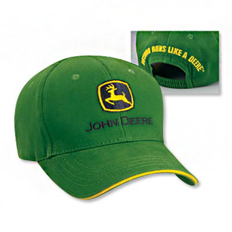 John Deere Toddler Green Sandwich Cap   RunGreen.com