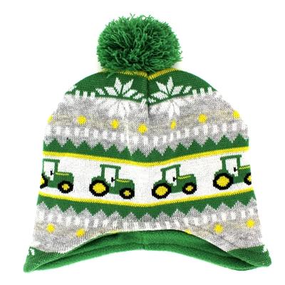 John Deere Toddler Knit Beanie Hat