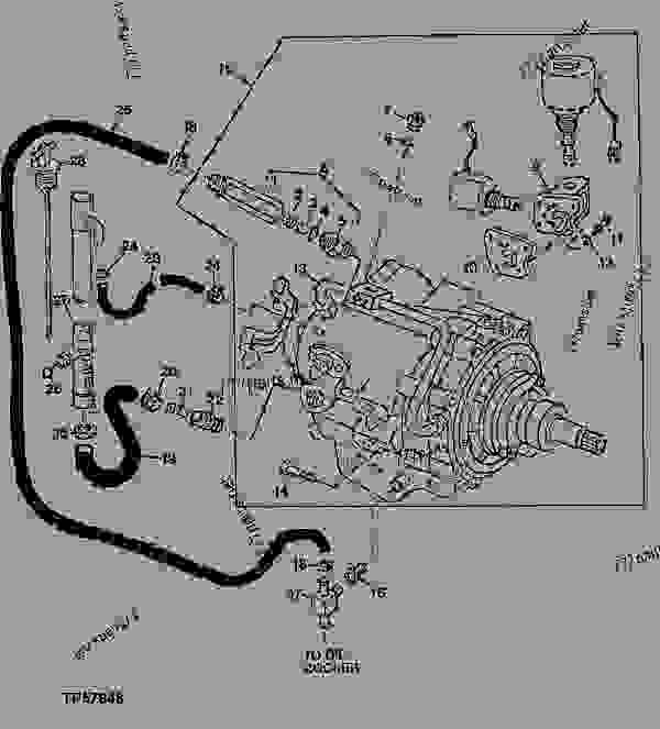 REVERSER ( - 792482) - BACKHOE, LOADER John Deere 310D ...