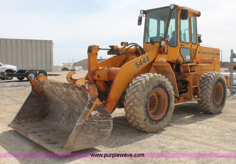 1989 John Deere 544E wheel loader | no-reserve auction on ...