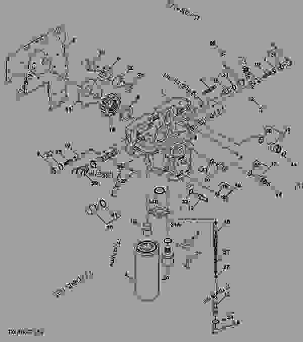 HYDROSTATIC CONTROL VALVE HOUSING (IVT) - TRACTOR John ...